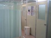 治療室内部